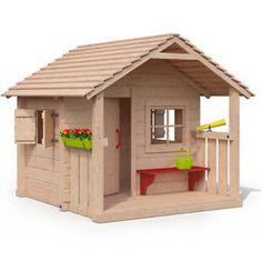 Spielhaus Otto 3,6 m² Spielhaus, Kinder spielhaus und