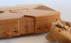 Wooden Xbox and Controller on Global Geek News.