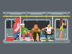 Illustration idea by @Anton Fritsler (kit8) Work process: https://vimeo.com/174115067