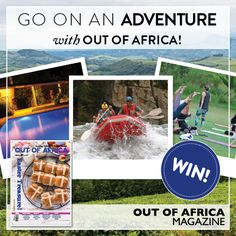 GO ON AN ADVENTURE WITH OUT OF AFRICA  Stand a chance to win a two night stay for a family of four at Aberfoyle Lodge. This exciting package includes bed and breakfast plus an activity of your choice.   Find how to enter in the lastest issue of OUT OF AFRICA Magazine - Easter Treasure! Competition closing soon so hurry!  See more at http://ift.tt/1U6C1sm