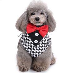 GLORIOUS KEK koiran tuxedo kaulus häät muotoinen koiran bändi Bow Tie & Kaulus Tie mallit Slip-Over-Collar Pet bandana S / M / L Smoking, Slip Over, Dog Bows, Neckerchiefs, Formal, Special Events, Party, Scoop Neck, Tuxedo