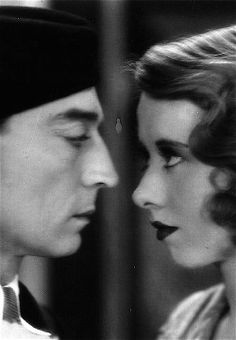 Buster Keaton and Irene Purcell in The Passionate Plumber, 1932.