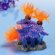 Soft Artificial Vivid Resin Coral
