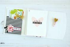 A Day To Remember Mini Album  Felicity Jane Februar Kit