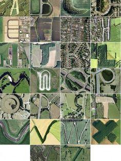 Aerial Alphabet