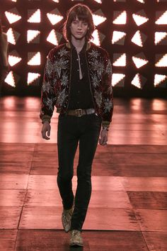 Saint Laurent | Spring 2015 Menswear Collection | Style.com