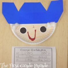 The First Grade Parade: President's Day