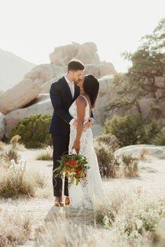 Joshua Tree wedding magic // vivianchen.com