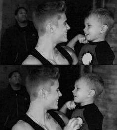 Jaxon Bieber And Justin Bieber