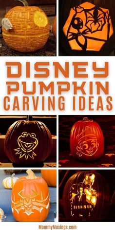 Disney Pumpkin Stencils, Disney Pumpkin Carving, Pumpkin Carving Templates, Diy Pumpkin, Pumpkin Crafts, Pumpkin Ideas, Halloween This Year, Disney Halloween, Halloween Ideas