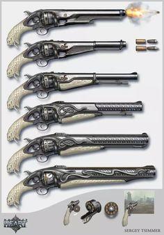 枪械设计丨俄罗斯-Sergey Tsimmer