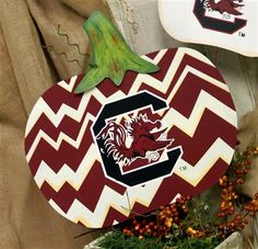 South Carolina Gamecocks Pumpkin