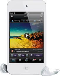 Apple® - iPod touch® 16GB* MP3 Player (4th Generation) - White - Buy at BestBuy - The Most Current Products and Deals from BestBuy - reviews - most watched items - most selling products at BestBuy, Amazon, Ebay