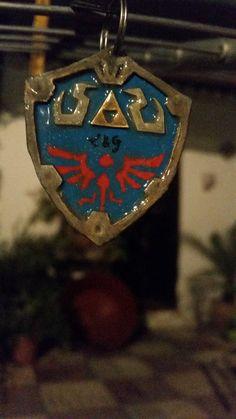 Llavero escudo Link