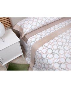 Sábanas de franela de gran calidad 100 % algodón en color beige.  Hazle frente a los días más fríos al mejor precio. Disponibles en todas las medidas de cama