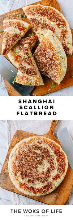 Cookbook Recipes, Bread Recipes, Cooking Recipes, Chinese Pancake, Good Food, Yummy Food, Woks, Flat Bread, Chopsticks