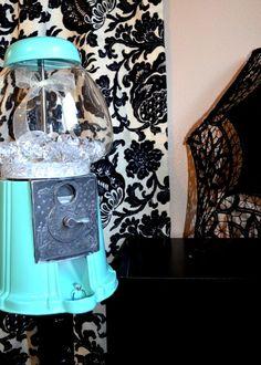 Tiffany U0026 Co Inspired Diamond Dispensing Gumball Machine