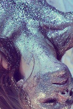 Купить блестки для макияжа artsoul make up галографическое серебро по цене 30 грн в Киеве, Украине — Artsoul Make-Up