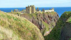 Dunottar Castle in Aberdeenshire, Scotland