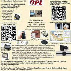 GPS & RFID-BASED TRACKING DEVICES: (Buy/Rent /Layaway): DPL-Surveillance-Equipment.com  http://www.dpl-surveillance-equipment.com/tracking_devices.html  Place These GPS And RFID-Based Trackers Almost Anywhere: On A Person, In A Bag, In A Car. Use The Optional Magnetized Case For Long-Term  (Up To 6 Months) With Our Big Brother Real-Time GPS Tracker.  Attach It Underneath A Car For Covert GPS Tracking And Up To 30 Days Internal Battery Life.