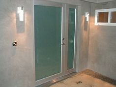 Model: BP-450 Entry Door w/ Sidelite, Size: 4′ x 8′ Frame: Clear Anodized Aluminum Glass: 1/4″ Laminated Obscured: Solex Location: Sherman Oaks, CA 91403