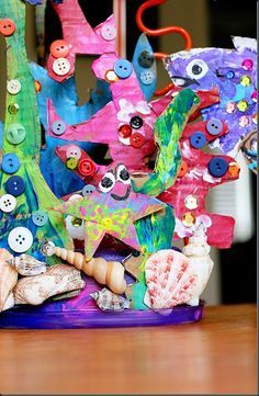 coral reef art lesson plan - Google Search