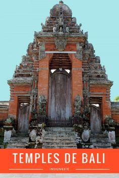 3 temples de Bali à visiter, Indonésie