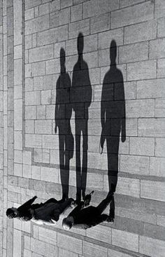 We give so little thought to the shadows we throw across humanity......As we're too busy building up our physical impressions.