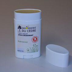 Stick Déodorant 100% naturel à l'huile essentielle de Palmarosa