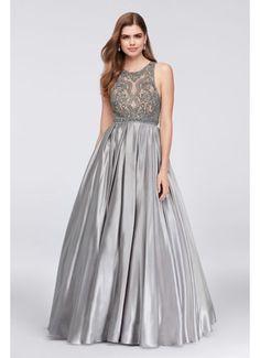 Long Ballgown Halter Formal Dresses Dress - Cecily Brown