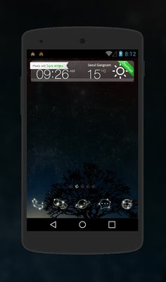 "Free Android Theme ""The Star's Voice""  http://androidlooks.com/theme/t1484-stars-voice/  #android, #androidTheme, #dark, #dodolLauncher"