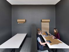 Not specifically for Empathy Lounge but a cool idea... MullenLowe, Boston, 2016 - TPG Architecture