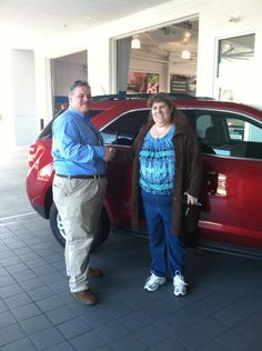 www.DriveBaby.com  On behalf of the Milton Ruben Superstore, thank you and congratulations on your new vehicle Ms. Brigan! #DriveBaby