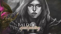 Бальдр ►  Speedpainting