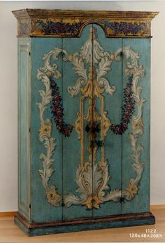 Old world style hand painted Florentine reproductions | Bellini Antique Italia