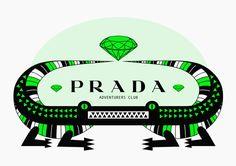 HONET - Illustrations for Prada. Summer/Winter 2006
