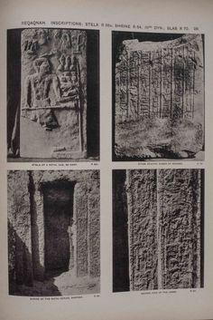 Tombs of the third Egyptian dynasty at Reqâqnah and Bêt Khallâf. GARSTANG John