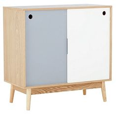 Buy Foley 2 Door Sideboard - Two Tone at Argos.co.uk - Your Online Shop for Sideboards and chest of drawers, Coffee tables, sideboards and display units, Limited stock Home and garden.