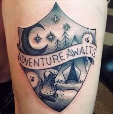 Image result for travel tattoos for guys
