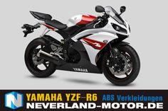 YAMAHA YZF-R6 1998-2002 ABS Verkleidung