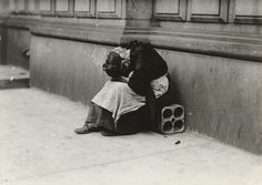 """Tragedy of Old Age  Lewis W. Hine (American, 1874-1940)    1912. Gelatin silver print, 4 1/2 x 6 3/8"""" (11.4 x 16.2 cm). Purchase"""