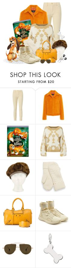 """Disney inspired - The Fox and the Hound."" by dgia ❤ liked on Polyvore featuring Intermix, Caroline Constas, Balenciaga, Puma and Ahlem"