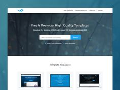 TemplateOcean+Homepage+by+Mizan+:)