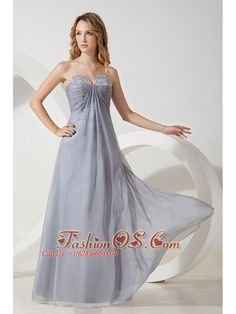 Cool Silver Party Dresses Silver Grey High Quality Chiffon Strapless Prom / Homecoming Dress- $127.42  www... Check more at http://24store.cf/fashion/silver-party-dresses-silver-grey-high-quality-chiffon-strapless-prom-homecoming-dress-127-42-www/