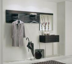 100 moderne Dielenmöbel für Zuhause! Flur Design, Closet Vanity, Dressing, Bedroom Styles, Creative Home, Bathroom Hooks, Wardrobe Rack, House Design, Storage
