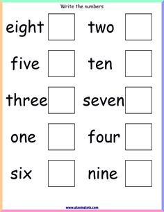 Free printable for kids (toddlers/preschoolers) flash cards/charts/worksheets/(file folder/busy bag/quiet time activities)(English/Tamil) to play and learn at home and classroom. English Worksheets For Kindergarten, Printable Preschool Worksheets, Numbers Kindergarten, Kindergarten Math Worksheets, Phonics Worksheets, Free Printable, Maths, Grade 1 Worksheets, Homeschool Worksheets