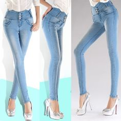trouser  jeans women high waist | Buy skinny trousers jeans- Source skinny trousers jeans,skinny ...