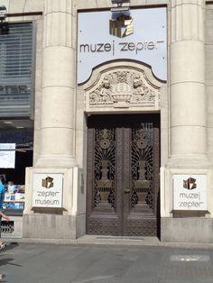 Belgrád, a szerb tulajdonos múzeuma...Zepter