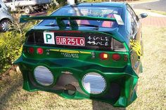 The very best of the very worst car modifications. Terrible body kits, bad paint jobs and epic fail rims. Ricer car mods and doing it wrong. Ricer Car, Car Fails, Car Memes, Kermit The Frog, Nissan Skyline, Modified Cars, Rally Car, Subaru Impreza, Custom Cars