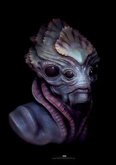 Underwater character concept, Marcus Whinney on ArtStation at https://www.artstation.com/artwork/KDPqR